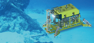 Hard Seabed ROV Coring